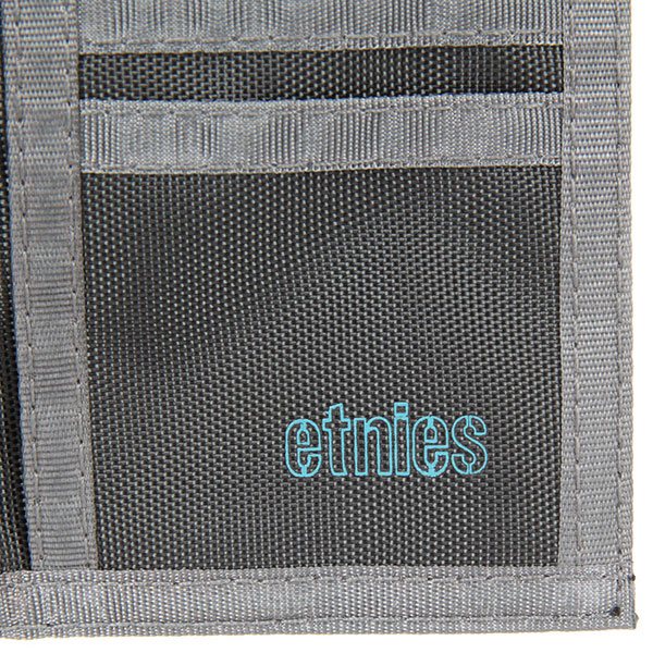 Кошелек Etnies Icon Outline 15 Wallet Charcoal
