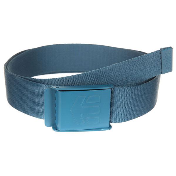 Ремень Etnies Staplez Belt Blue/Navy