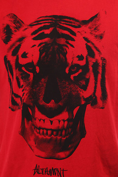 Футболка Altamont Tiger Face Red