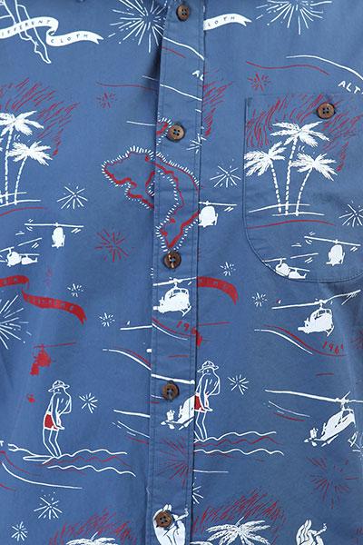 Рубашка Altamont Helloha Woven Blue
