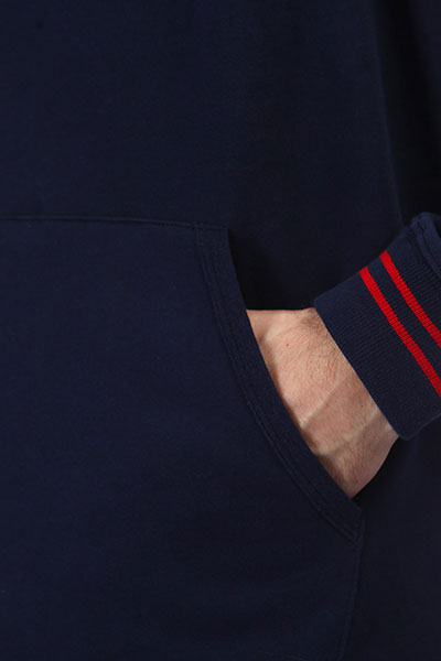 Толстовка кенгуру Etnies Home Game Pullover Navy