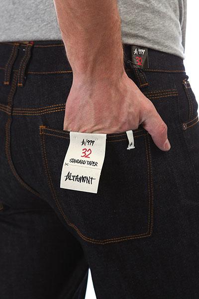 Джинсы узкие Altamont A/979 Denim Indigo Raw