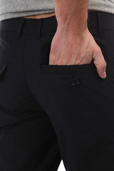 Штаны прямые Anteater Chino Black