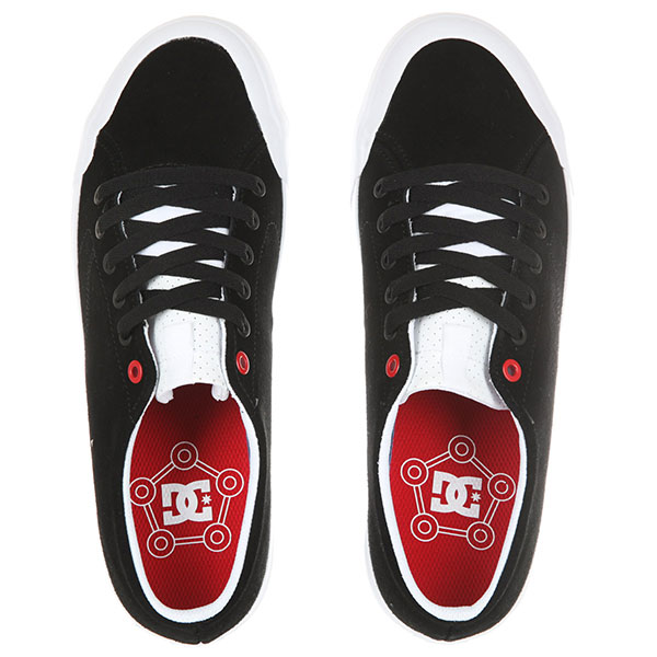 Кеды низкие DC Evan Lo Zero S Black/Athletic Red