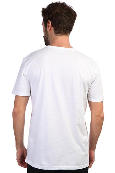 Футболка QUIKSILVER Caplanepourmoss White