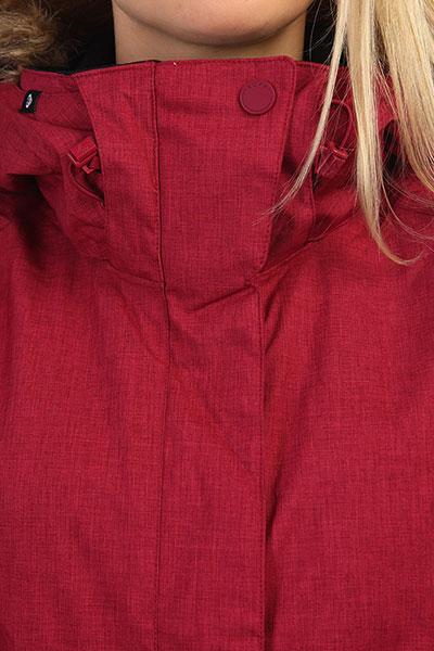 Куртка женская Roxy Jet Ski Solid Beet Red
