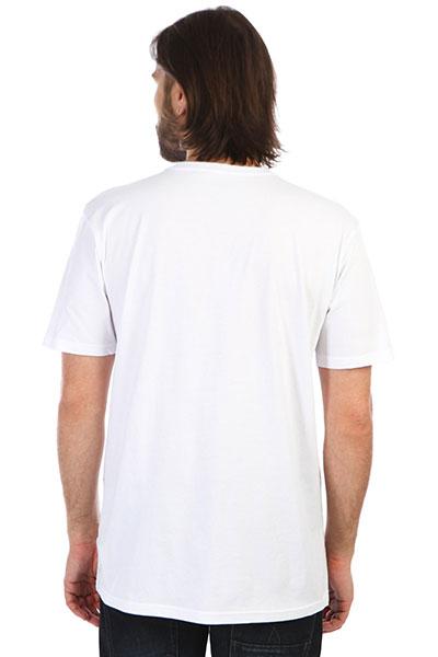 Футболка QUIKSILVER Hexalogoss White