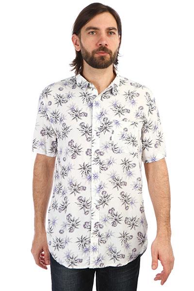 Рубашка QUIKSILVER с коротким рукавом Fluid Geometric