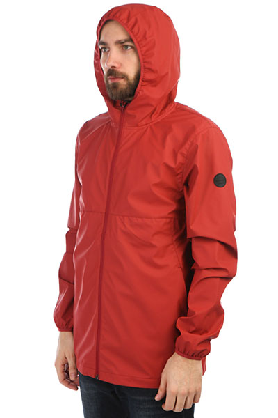 Ветровка QUIKSILVER Kamakurarains Brick Red