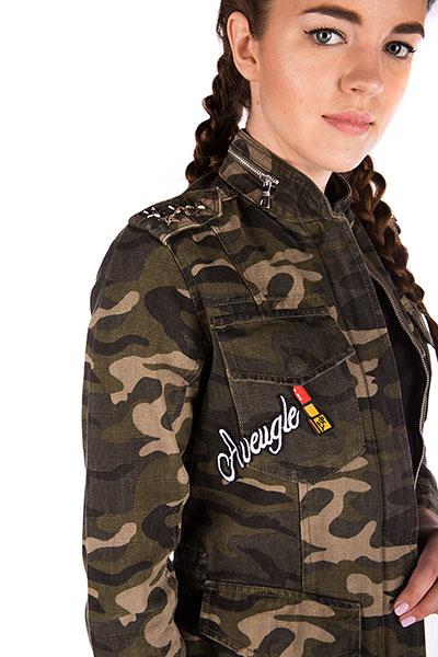 Женская куртка MQ-1030 kamuflaj