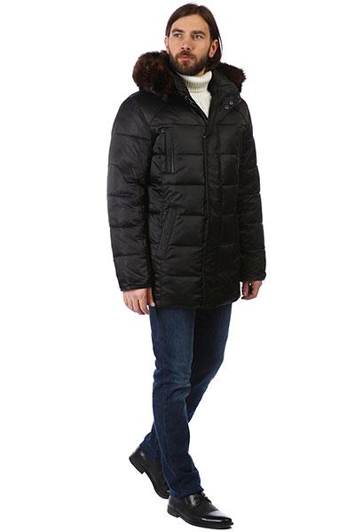 A PASSION PLAY Куртка (1) 182CNCS-0007-0201|черный|DG000002245|нет/50||МужскойКурткаЗимаСредняяМех