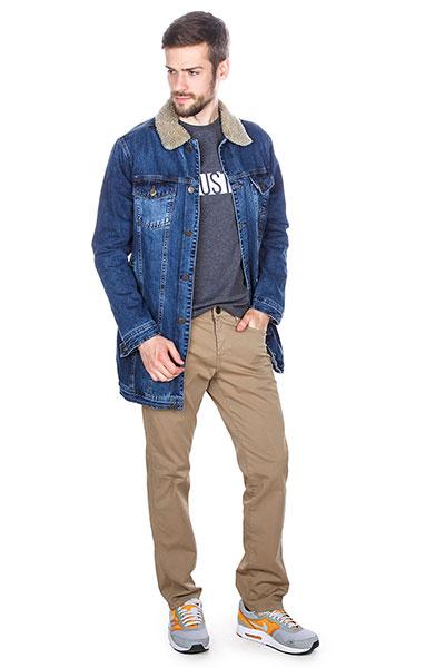 Мужская демисезонная куртка джинсовая 17W-WH-26
