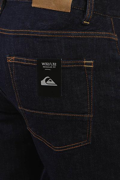 Классические джинсы QUIKSILVER Sequel Rinse