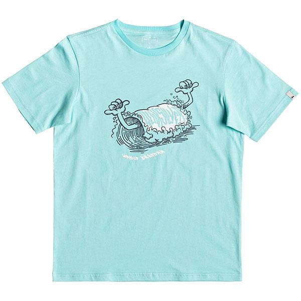 Детская QUIKSILVER футболка Wasup Braddah