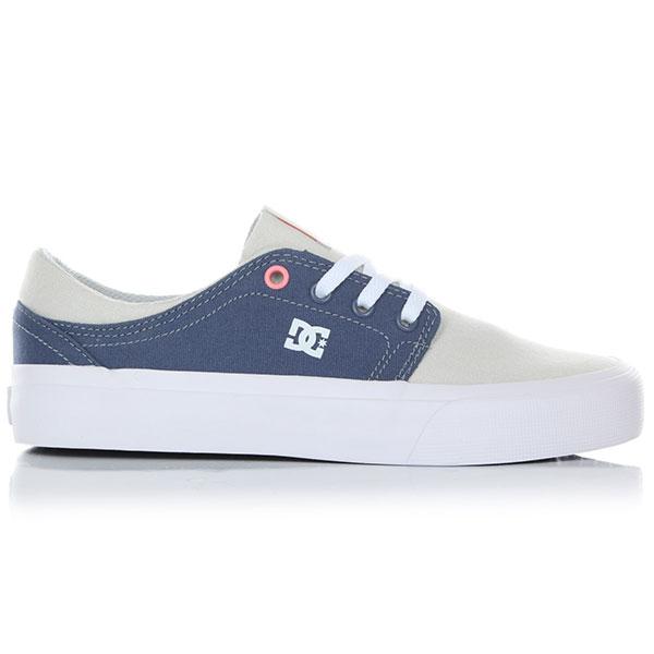 Кеды низкие DC Trase Tx Blue/Grey