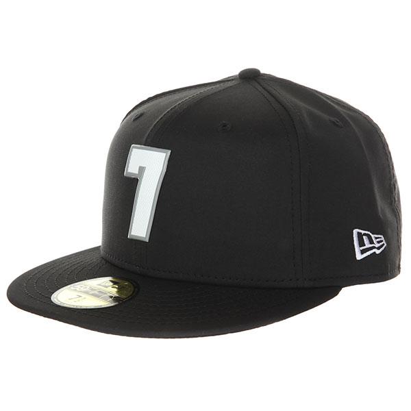 Бейсболка с прямым козырьком DC 07 Pro Black