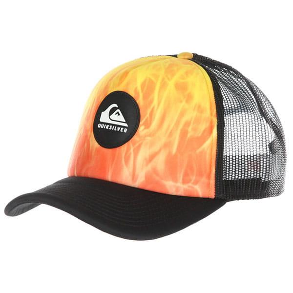 Бейсболка с сеткой QUIKSILVER Brightlearnings Tiger Orange