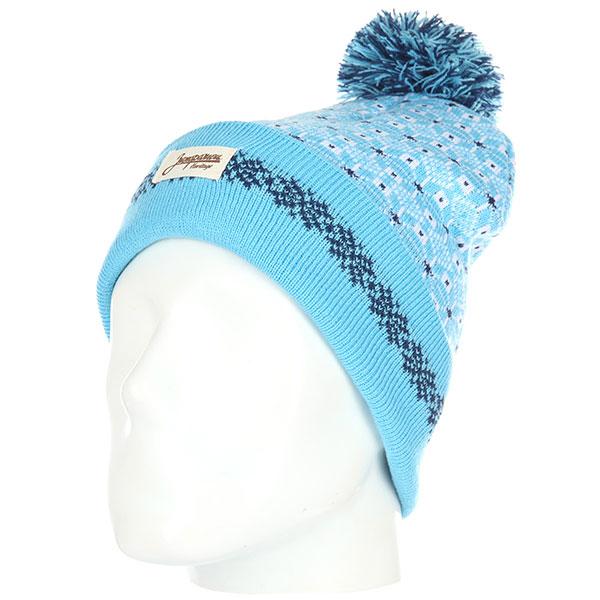 Шапка Запорожец Uzor-1, Blue/white