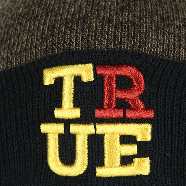 Шапка Truespin 4 Letters True, Black/beige