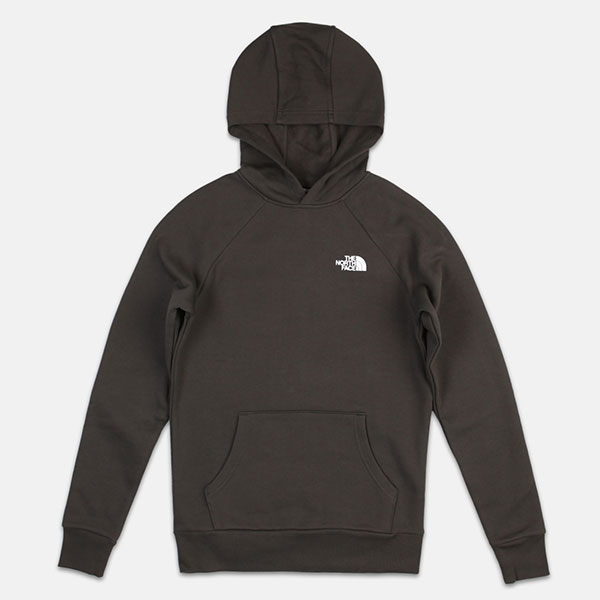 Толстовка кенгуру The North Face Raglan Red Box Hd Asphlg/Znn