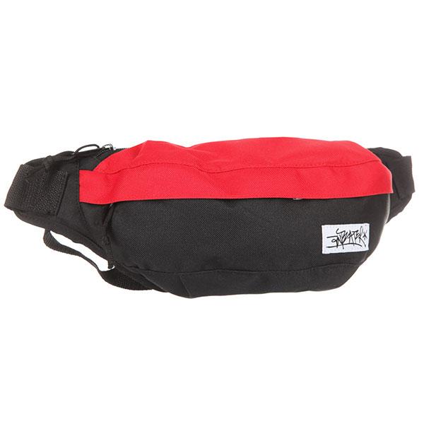 Сумка поясная Anteater Minibag-combo red