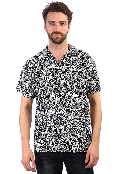 Рубашка QUIKSILVER с коротким рукавом The Camp