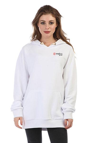 Толстовка Wearcraft Premium женская Mail.ru Logo Белая