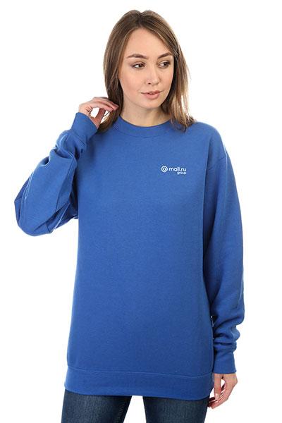 Свитшот женский Mail.Ru Logo Ярко-синий