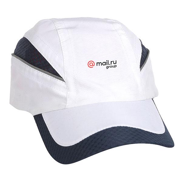 Бейсболка Классическая Mail.ru Qualifier Logo