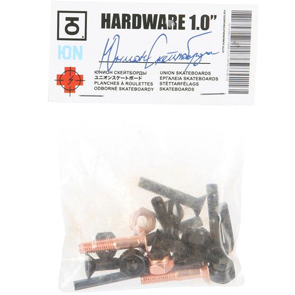 """Винты Юнион Hardware 1.0"""" Black/Bronze Allen 1"""