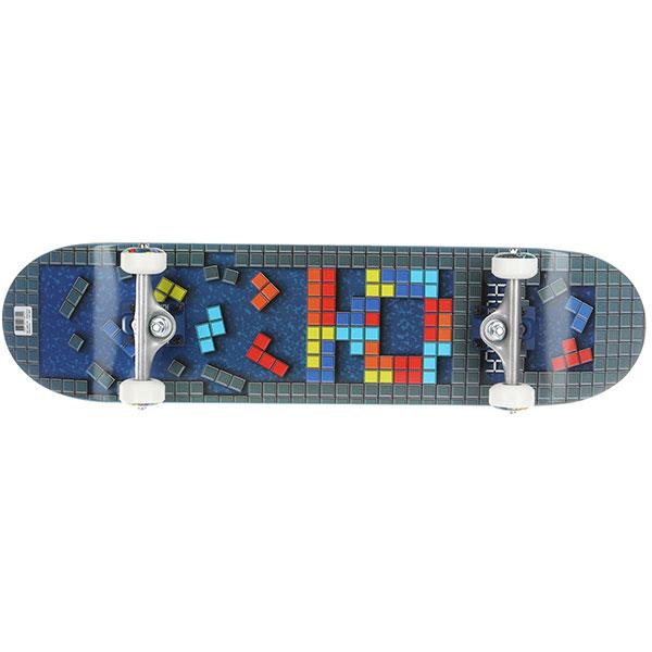 Скейтборд в сборе Юнион Tetris Multi 31.25 x 7.6 (17.8 см)