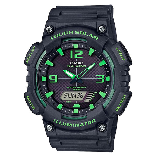 Электронные часы Casio Collection 69230 Aq-s810w-8a3vef Black