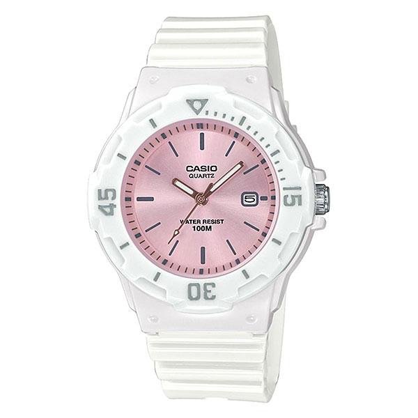 Кварцевые часы женские Casio Collection 69232 Lrw-200h-4e3vef White