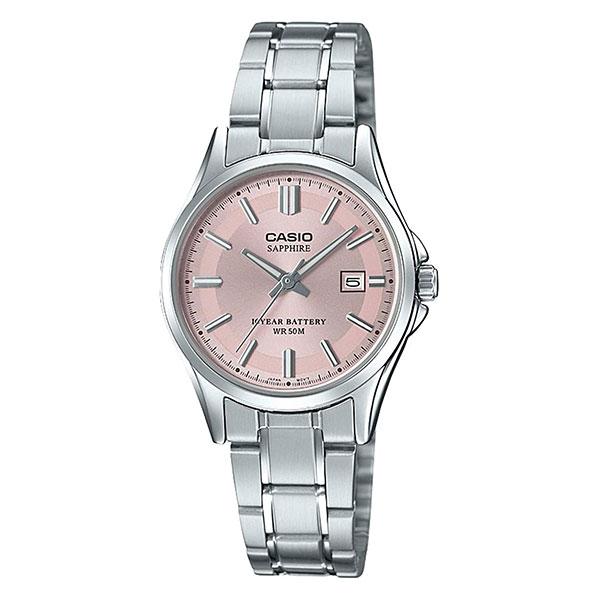 Кварцевые часы женские Casio Collection 69238 Lts-100d-4avef Grey