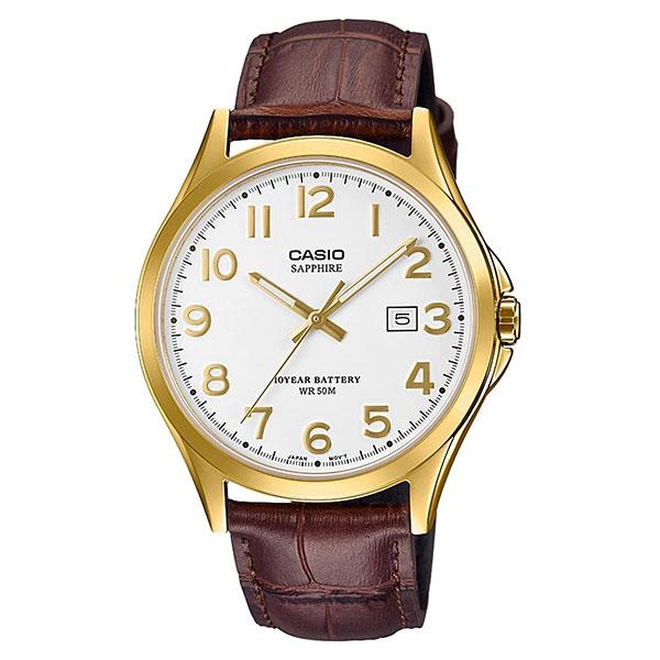 Кварцевые часы Casio Collection 69260 Mts-100gl-7avef Gold