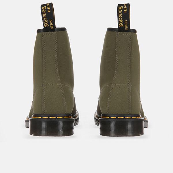 Ботинки высокие Dr. Martens Broder Olive/Black/Egret