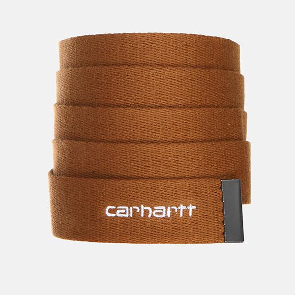 Ремень Carhartt WIP Orbit Belt Hamilton Brown/White