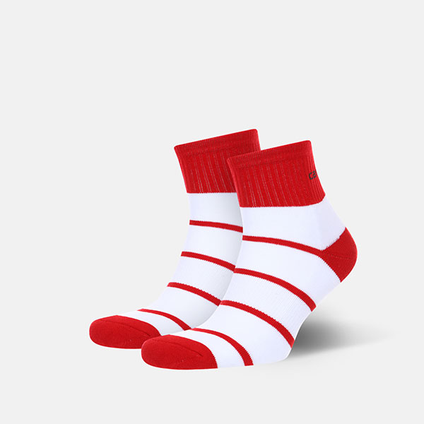 Носки Carhartt Akron Socks Cardinal/White