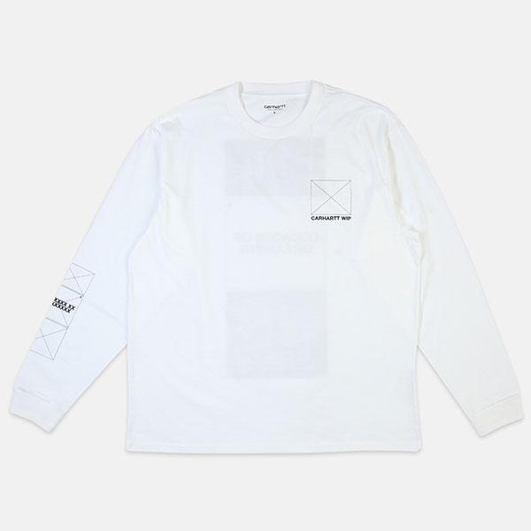 Лонгслив Carhartt WIP I026423wb White/Black