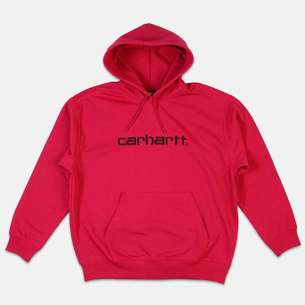 Толстовка кенгуру Carhartt WIP I025342t Tango/Black