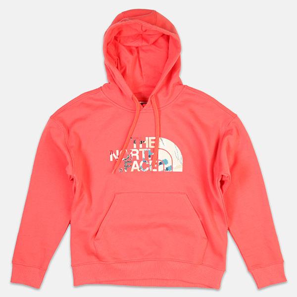 Толстовка кенгуру женская  The North Face T93rz4hey pink