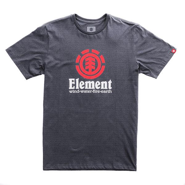 Футболка детская Element Vertical Charcoal Heathe