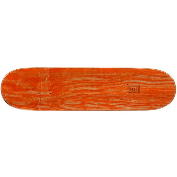 Дека для скейтборда Юнион Slime Red/Yellow 31.625 x 8 (20.3 см)