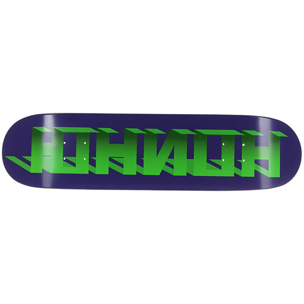Дека для скейтборда Юнион Discocube Purple/Green 31 x 8 (20.3 см)