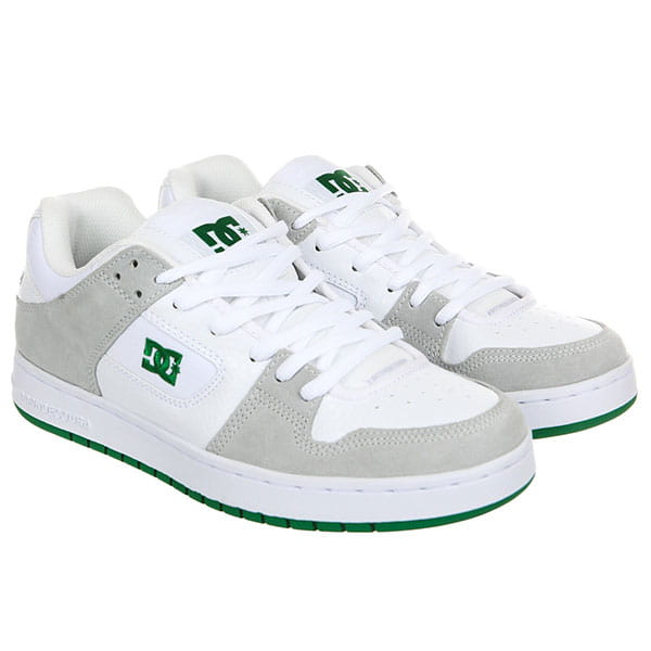Кеды низкие DС Manteca White/Green