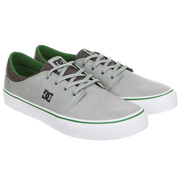 Кеды низкие DС Trase Sd Grey/Green/Grey