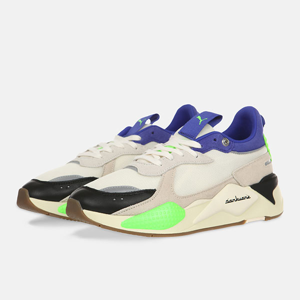 Кроссовки Puma Rs-X Sankuanz Cloud Cream-Royal Blue
