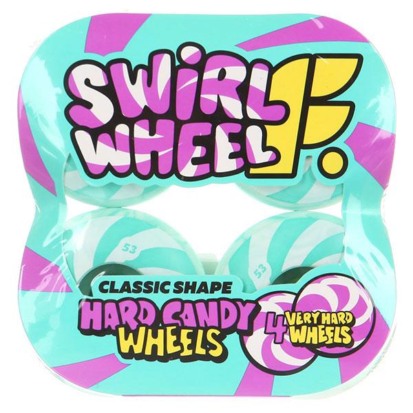 Колеса для скейтборда Footwork Swirl Mint 99A 53 mm