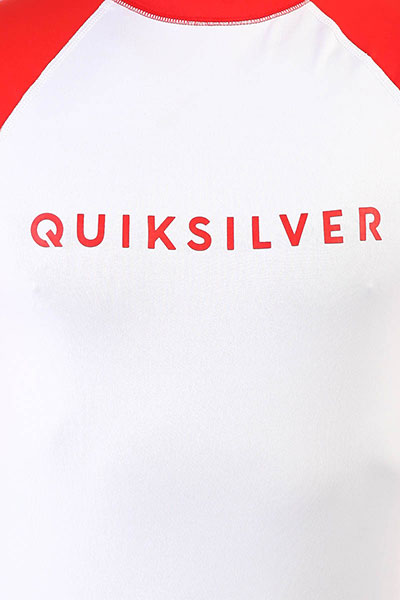 Гидрофутболка QUIKSILVER Alwaystheress High Risk Red