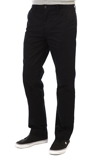 Штаны прямые DC Worker Relaxed Black